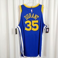d8c3ed9d42e3 Nike Kevin Durant Icon Edition Jersey Golden State Warriors NBA Blue Men  Size XL
