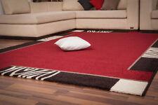 Tapis rouge pour la maison, 120 cm x 120 cm