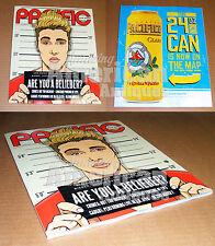 Justin Bieber BRAND NEW Magazine Belieber Mug Shot