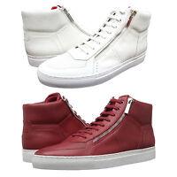 Hugo Boss Mens Futuzip Mid Casual Lace Up Athletic Fashion Sneakers Shoes Kicks