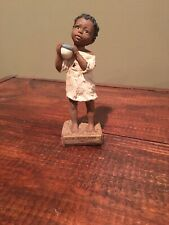 """All God'S Children 5.5"""" Nakia A Cup In His Name Figurine Lt Edition"""