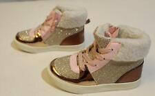 OshKosh BGosh Toddler Girls Farrah Fur Trimmed Lace-Up...