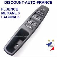 Bouton, commande de lève vitre avant gauche Renault Megane 3 Fluence Laguna 3