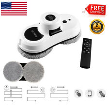 Cop Rose X5 Smart Window Cleaner Vacuum Remote Automatic Glass Cleaning Robot US
