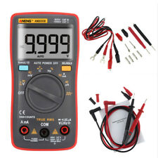 AN8008 9999 Digital Multimeter Auto Range LCD Voltmeter Tester Ammeter AC DC OHM