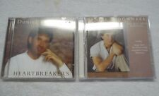 Daniel O'Donnell 2 Music CDs - Heartbreakers & The Boy From Donegal