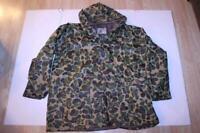 Men's Seaway XL Quilted Hooded Rain Jacket (Camo) Seaway