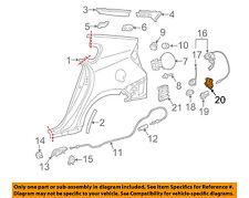 TOYOTA OEM 12-15 Prius Plug-In Fuel Door-Lock Actuator 7703747010