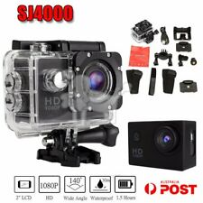 SJ4000 1080P Sports DV Action Camera Full HD Waterproof Camcorder GoPro BLACK AU