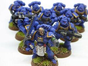 Warhammer 40K Ultramarine space marine tactical squad A