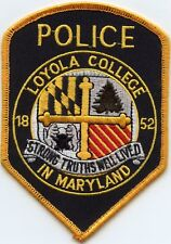 old vintage LOYOLA COLLEGE MARYLAND MD POLICE PATCH