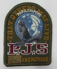 PARAJUMPERS PJS MILITARY - GREEN AUTHENTIC JACKET REPLACEMENT PATCH NEW!!!!!!!!!