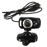 USB 3 LEDs 30M Mega HD Webcam Web Cam Camera + Mic for PC Laptop Win 7 8 T5W7