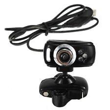 USB 3 LEDs 30M Mega HD Webcam Web Cam Camera + Mic for PC Laptop Win 7 8 T5W7