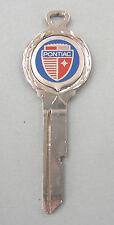 Pontiac White Gold Crest B-10 Key GM Vintage Enameled Shield 1936-1964 1965 1966