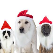 Pet Dog Puppy Winter Christmas Santa Hat  For Christmas Gift Party Costume