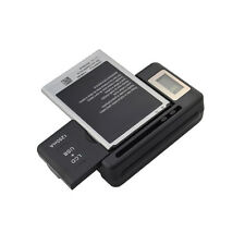 Universal Battery Charger w/ USB AC Charging Port for Cell Phone Camera Battery