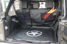 Pet Dog Mat Storage Cargo Liner Rear Car Seat Cover For Jeep Wrangle JK 4-Door