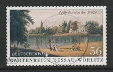 Germany 2002 Dessau-Worlitz booklet stamp SG 3114 FU