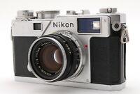 【N MINT+++】Nikon S3 Rangefinder Nikkor H 50mm 5cm f/2 Lens From JAPAN