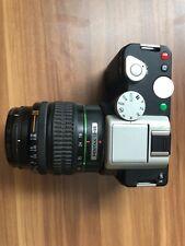 Pentax K-01 with SMC 18-55 AI lens