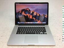 Apple MacBook Pro, MC976LL/A Retina 2012 Core i7-3720QM 8GB RAM 512GB SSD Sierra