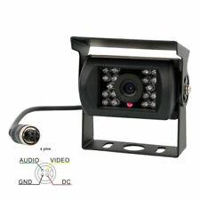 4Pin 12-24V Car Rear View Reverse Camera 18 LED REVERSING CAMERA Truck Lorry Van