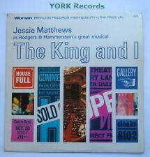 THE KING & I - Cast Recording with Jessie Matthews - Ex Con LP Record woman AZ 0