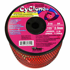 """Cyclone CY155S3 .155"""" x 315 Feet Commercial Grass Weed String Trimmer Edger Line"""