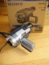 Sony Handycam DCR-TRV250 Digital-8 Camcorder NightShot Remote Software Cable Box