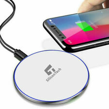 Qi Wireless Charger Fast Charging Dock For iPhone 12 SE 11 Pro Max XR XS 8 Plus