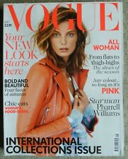 Vogue Magazine September 2013 International Fashion Collections All Woman Pink