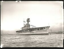 More details for glass neg royal navy aircraft carrier hms eagle armstrong whitworth sunk 1942
