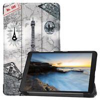 Étui pour Samsung Galaxy Tab A 8.0 SM-T290 SM-T295 Housse Couverture Sac Debout