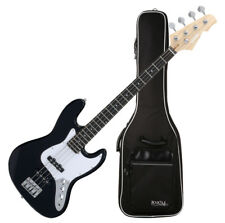 TOP: Rocktile E-Bass Gitarre, Jazzbass + Gigbag Tasche