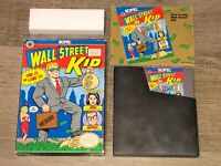 Wall Street Kid Nintendo Nes Complete CIB Authentic
