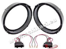 Adattatori altoparlanti Casse 165 mm +  per VolksWagen VW New Beetle anteriori p