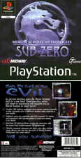 Mortal Kombat Mythologies PS1 Front And Back Replacement Box Art Case Cover
