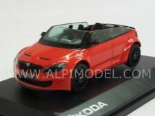 Skoda Fabia RS2000 Concept Red 1:43 ABREX 143ABC804BUB