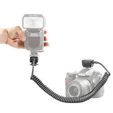 Neewer Ttl Off Cable De Flash De Cámara Para Nikon D3000 D3100 D3200 D5000 D5100