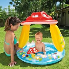 "Intex Mushroom Baby Pool, 40"" x 35"" for Ages 1-3 Infant Toddler"