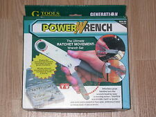 POWER WRENCH THE ULTIMATE RATCHET MOVEMENT WRENCH SET BRAND NEW RETAIL BOX