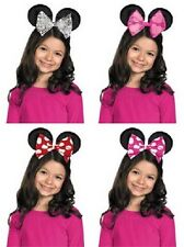 Minnie Mouse Bowtique Ear Headband Fancy Dress Halloween Child Costume Accessory