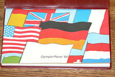 Heckler & Koch Arms Manufacturer 1984 Olympiad Planner Original, German, Rare