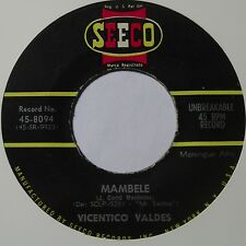 AFRO merengue FUNK 45: MAMBELLE vicentico valdes SEECO killer HEAR