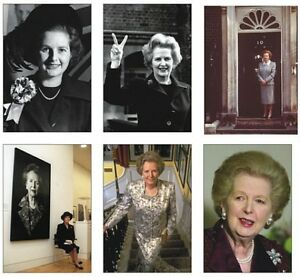 Margaret Thatcher British Prime Minister Postcard Set