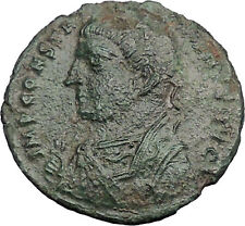 Constantine I The Great 317AD Ancient Roman Coin Nude Jupiter w Victory  i33255