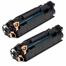 2 Pack CE285A 85A Toner Cartridge For HP Laserjet M1132 M1212nf M1217nfw