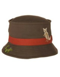 GYMBOREE OUTBACK ADVENTURE BROWN w/ OUTBACK SCENIC BUCKET HAT 12 24 2T 3T 4T 5T
