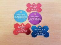 Dog Collar Name Discs